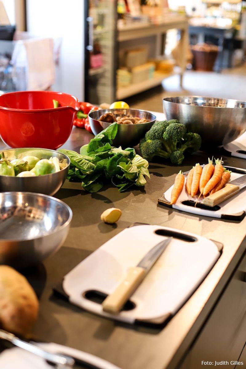 Zutaten für Asia-Kochkurs im Kochhaus